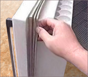 Холодильник бирюса м 127 серебро
